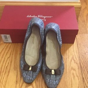 100% authentic, brand new Ferragamo MY JOY flats